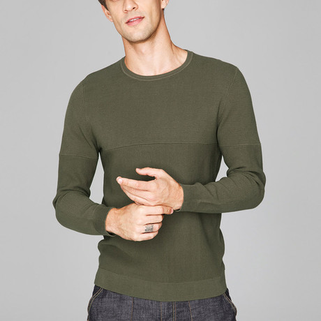 Auggie Knit Sweater // Green (M)