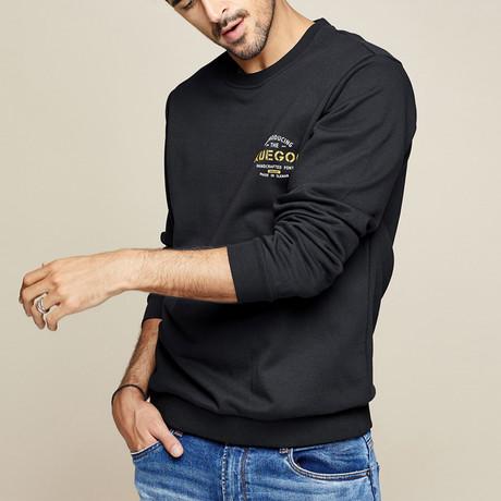 Reeves Sweater // Black (M)