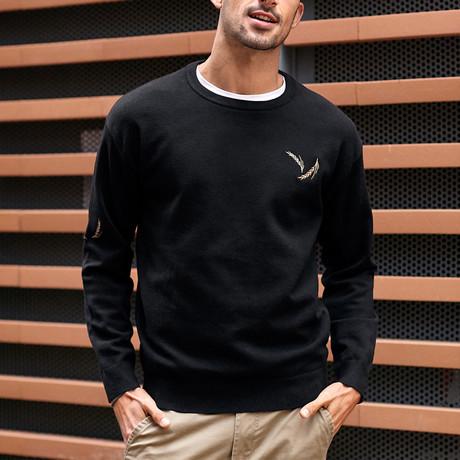 James Knit Sweater // Black (M)