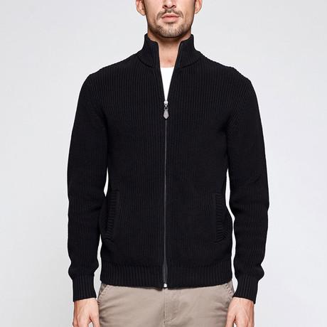 Owen Knit Sweater // Black (M)