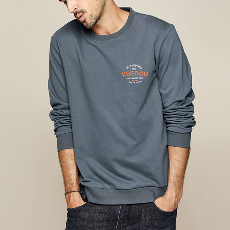 Reeves Sweater // Charcoal (M)