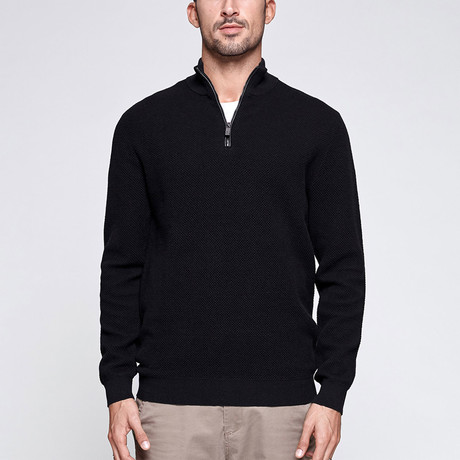 Darby Knit Sweater // Black (M)