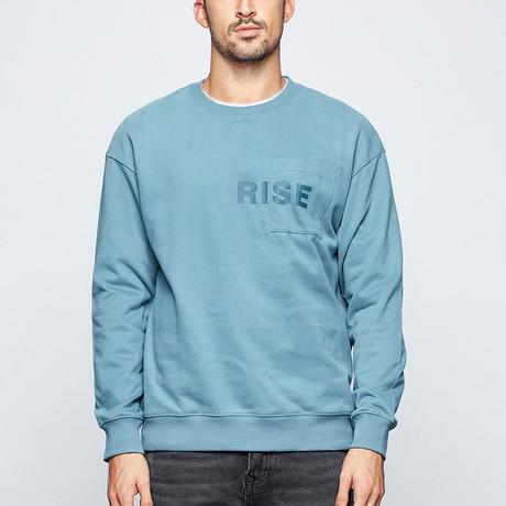 Grayson Sweater // Blue (M)
