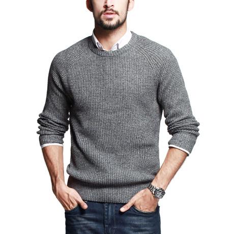 Adam Knit Sweater // Gray (S)