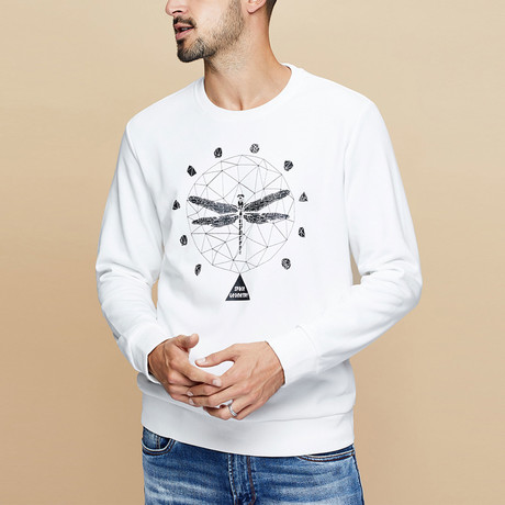 Cyrus Sweater // White (M)