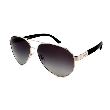 Prada // Men's PR58NS-ACD651 Sunglasses // Brown + Gunmetal + Gradient
