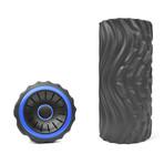 Rechargeable Vibrating High Density Foam Roller // Black + Blue