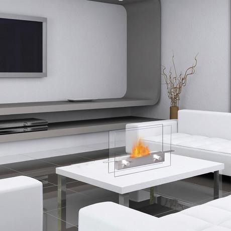 Anywhere Fireplace Metropolitan // Tabletop Fireplace + 6-Pack SmartFuel