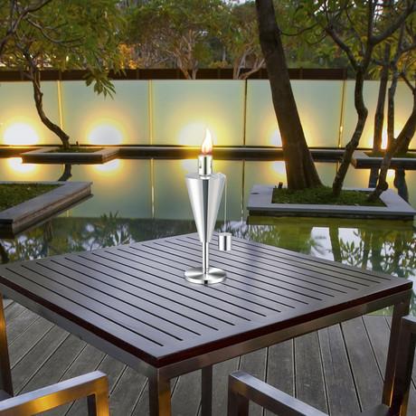 Anywhere Garden Outdoor Tabletop Torch // Cone