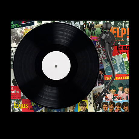 Debut // Beatles The Singles Turntable // Multicolor