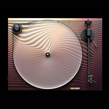 Primary // DelaDap Wave Turntable // Maroon