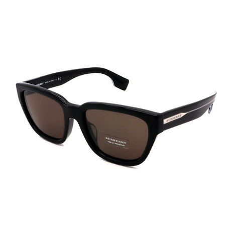 Burberry // Men's BB4277-37583 Sunglasses // Black + Gray
