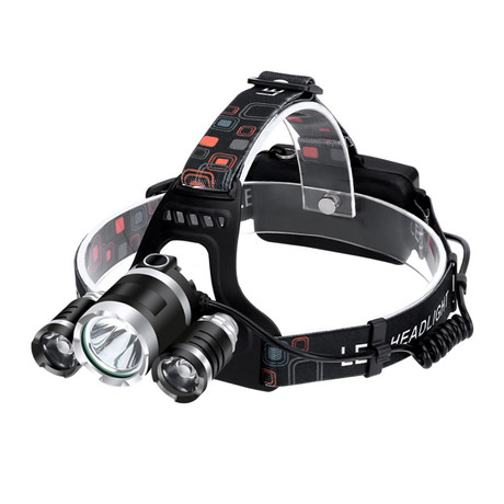 USB Rechargeable Headlamp // 3 Lights