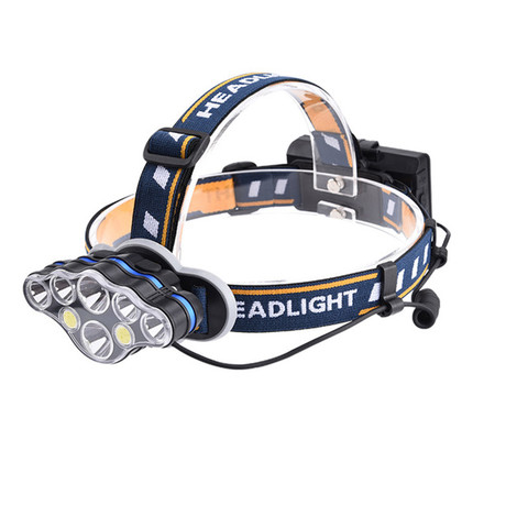 USB Rechargeable Headlamp // 8 Lights