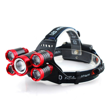 USB Rechargeable Headlamp // 5 Lights
