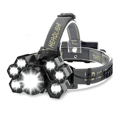 USB Rechargeable Headlamp // 7 Lights