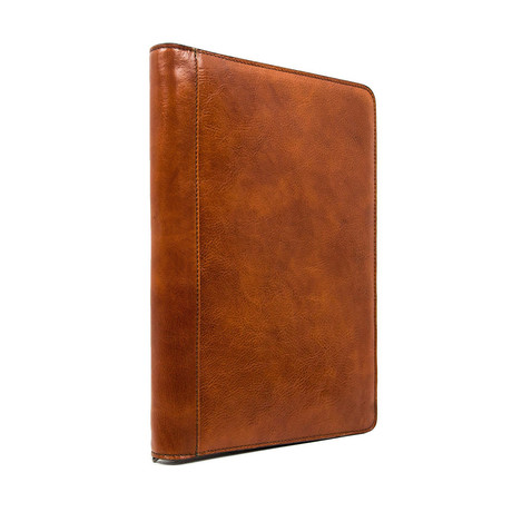 Candide // Leather Document Folder // Brown