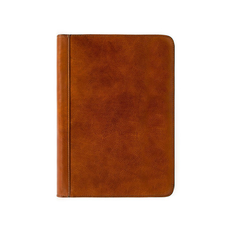 Candide // Leather Document Folder (Brown)