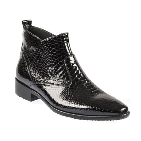 Santino Classic Boot // Shiny Black (Euro: 39)