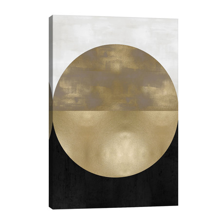 "Gold Sphere // Justin Thompson (26""W x 40""H x 1.5""D)"