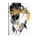 """Glam & Black I // Jennifer Goldberger (26""""W x 40""""H x 1.5""""D)"""
