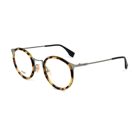 Men's 0023 Optical Frames // Ruthenium + Light Havana