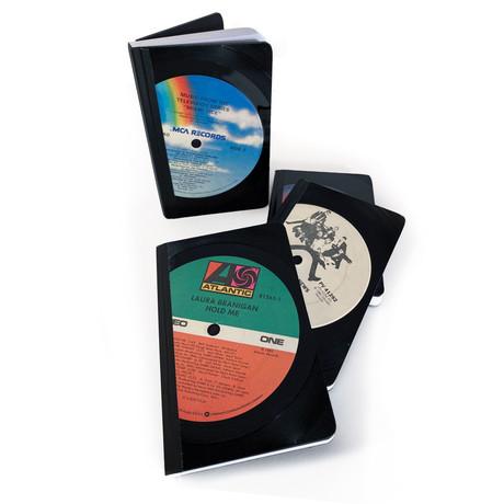 Vintage Vinyl LP Pocket Journal (Rock)