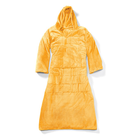Wearable 10 lb Weighted Snuggle // Yellow