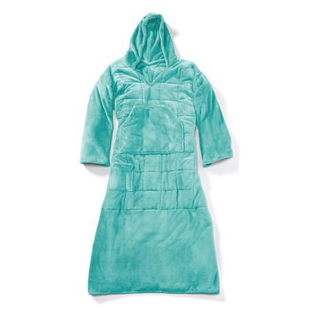 Wearable 10 lb Weighted Snuggle // Aqua