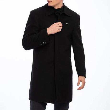 Rolando Coat // Black (S)