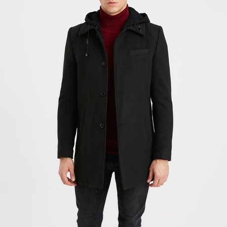 Chandler Coat // Black (S)