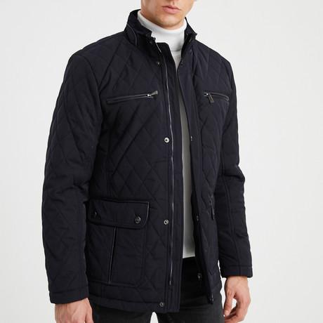 Isaiah Coat // Navy Blue (S)