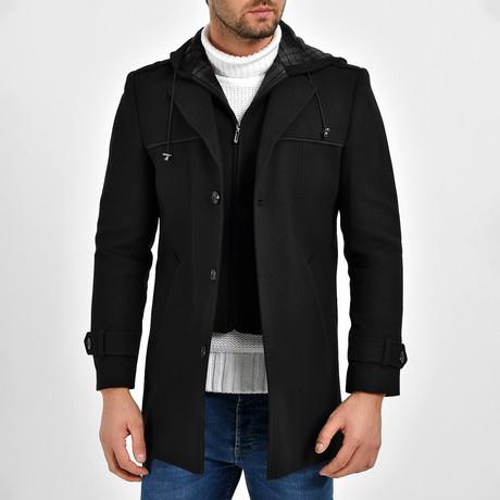 Matteo Coat // Black (S)