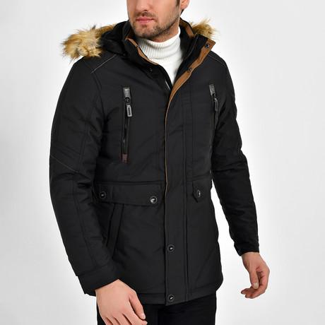 Jase Coat // Black (S)