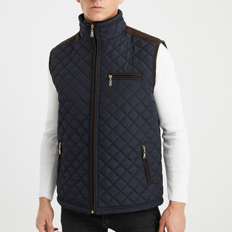 Peyton Vest // Navy Blue (S)