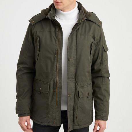Kai Coat // Olive Green (S)