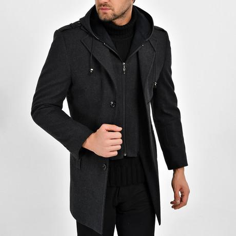 Kaden Coat // Black (S)