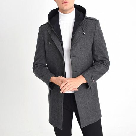 Blaine Coat // Smoke (S)