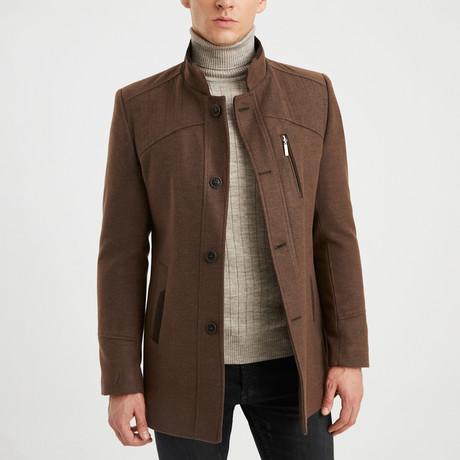 Keith Coat // Brown (S)