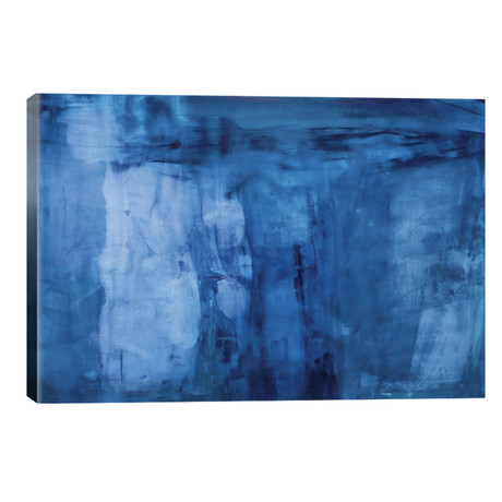 "Into The Blue // Michelle Oppenheimer (40""W x 26""H x 1.5""D)"