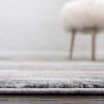"""Unique Loom Mykonos Helios Rug // Gray (26"""" x 72"""")"""