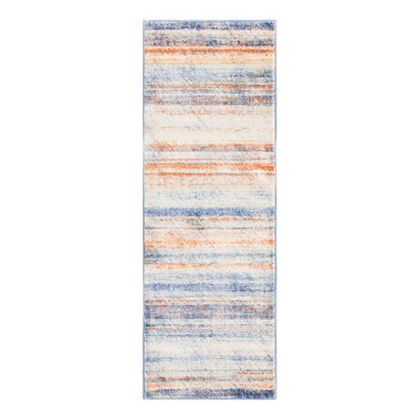 "Unique Loom Mykonos Helios Rug // Multi (26"" x 72"")"