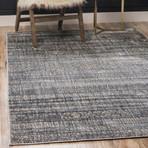 """Unique Loom Sardinia Helios Rug // Gray (26"""" x 72"""")"""
