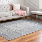 """Unique Loom Static Decatur Rug // Gray (26"""" x 36"""")"""
