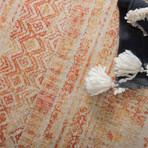 Unique Loom Sardinia Helios Rug // Orange // Round