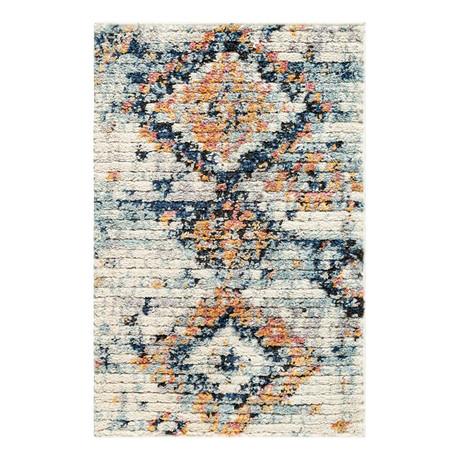 """Unique Loom Mediterranean Morocco Rug // Ivory (26"""" x 36"""")"""