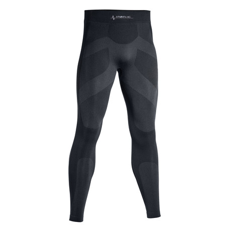 Iron-Ic // iSoft Long Thermic Pants // Black (S/M)