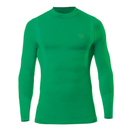 VivaSport // 5.0 Thermal Long Sleeve T-Shirt // Green (S/M)