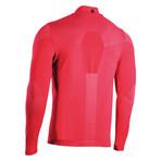 Iron-Ic // Long Sleeve Half Zip Sweater // Rosso (XL)