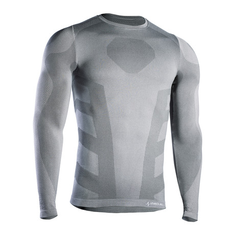 Iron-Ic // iSoft Long Sleeve T-Shirt // Gray (S/M)
